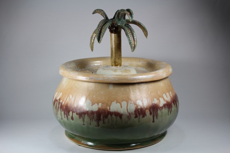 53 cup EBI-Fountain with a palm tree spout