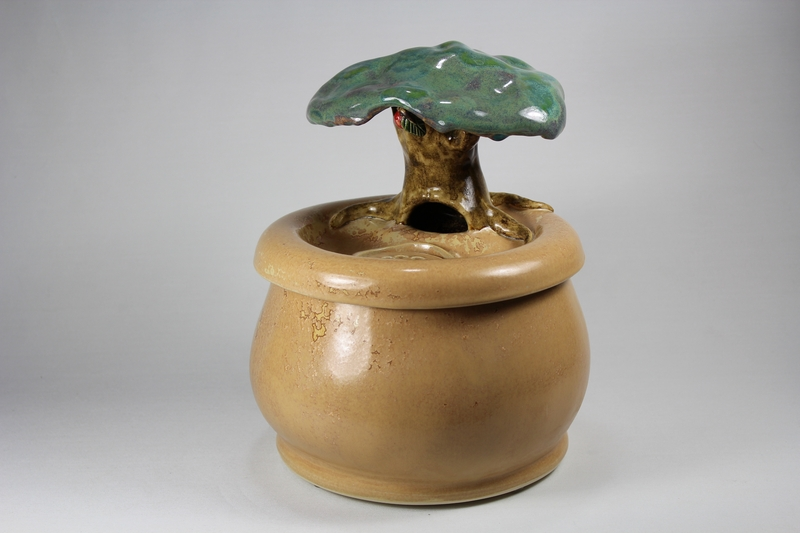 Genesis tree EBI-Fountain with a bubble spout