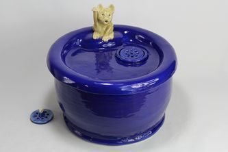 pet drinking fountain PF16057 with lucky cat spout