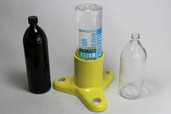 Pumpless EBI-Fountain with a Viosol bottle reservoir